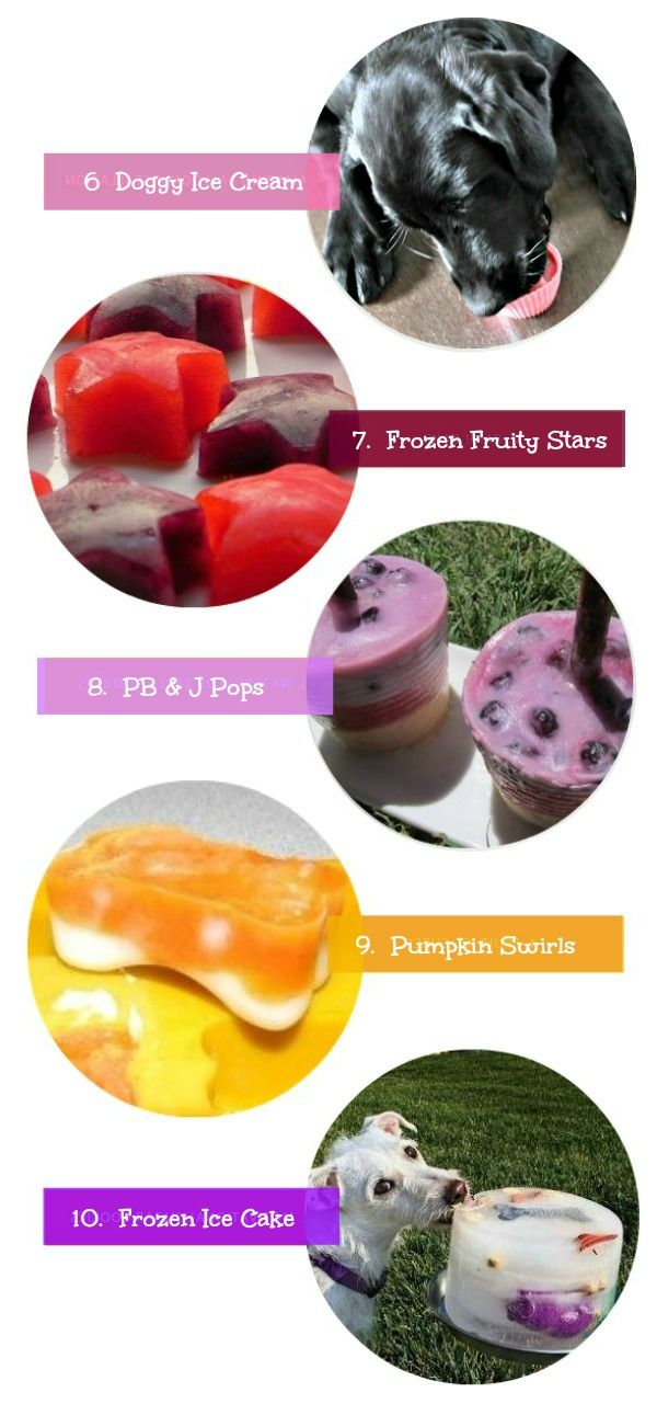 In keeping with last Friday's roundupfeaturing products to helpkeepyour dogcool during the dog days of summer, I thought I'd curate some tasty ways to keep your dog cool and refreshed too.I usually offer Moose an ice cube or two or...