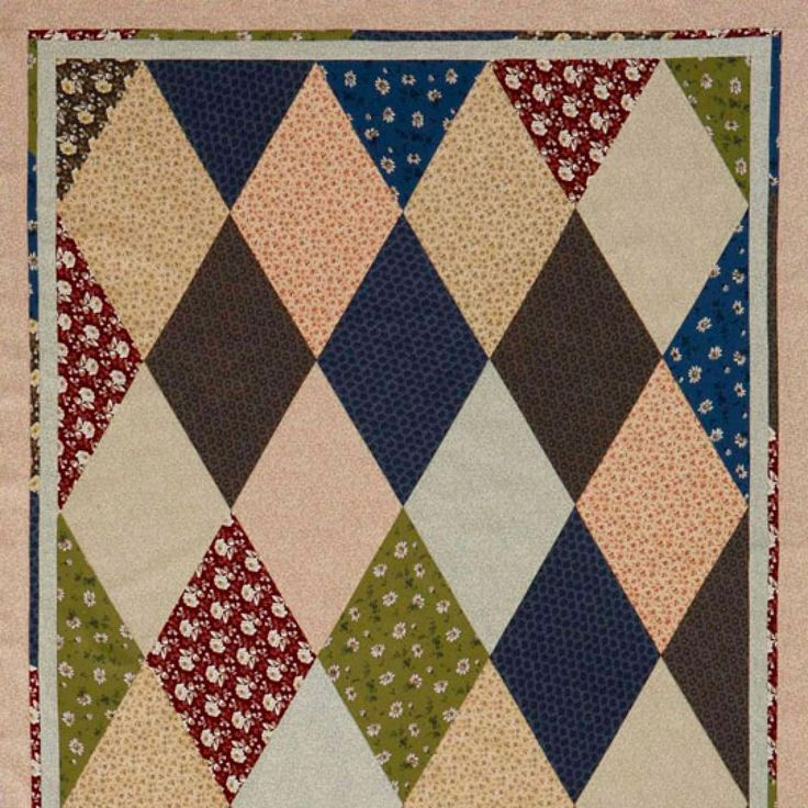 Diamond Pattern For Quilting : 17 Best images about Quilts - Diamonds on Pinterest Antique quilts, Jaybird quilts and Quilt