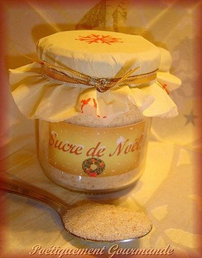 Sucre de Noël ( mes paniers gourmands) - Poétiquement Gourmande