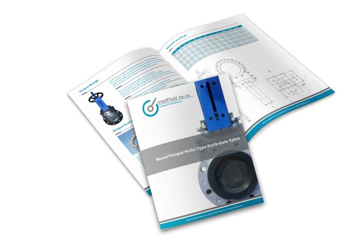 IntellFluid Brochure Design