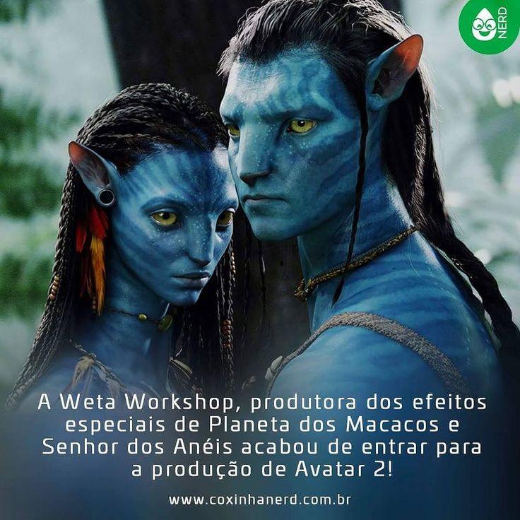 #CoxinhaNews Agora sim!!!    #TimelineAcessivel #PraCegoVer  Imagem do filme Avatar com a legenda: A Weta Workshop produtora dos efeitos especiais de Planeta dos Macacos e Senhor dos Anéis acabou de entrar para a produção de Avatar 2!   TAGS: #coxinhanerd #nerd #geek #geekstuff #geekart #nerd #nerdquote #geekquote #curiosidadesnerds #curiosidadesgeeks #coxinhanerd #coxinhafilmes #filmes #movies #euamocinema #adorocinema #avatar #avatarmovie #avatar2 #wetaworkshop #planetadosmacacos…
