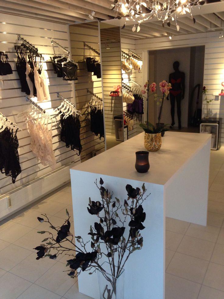 Lækker og hyggelig undertøjsbutik på hjørnet af Istedgade og Viktoriagade