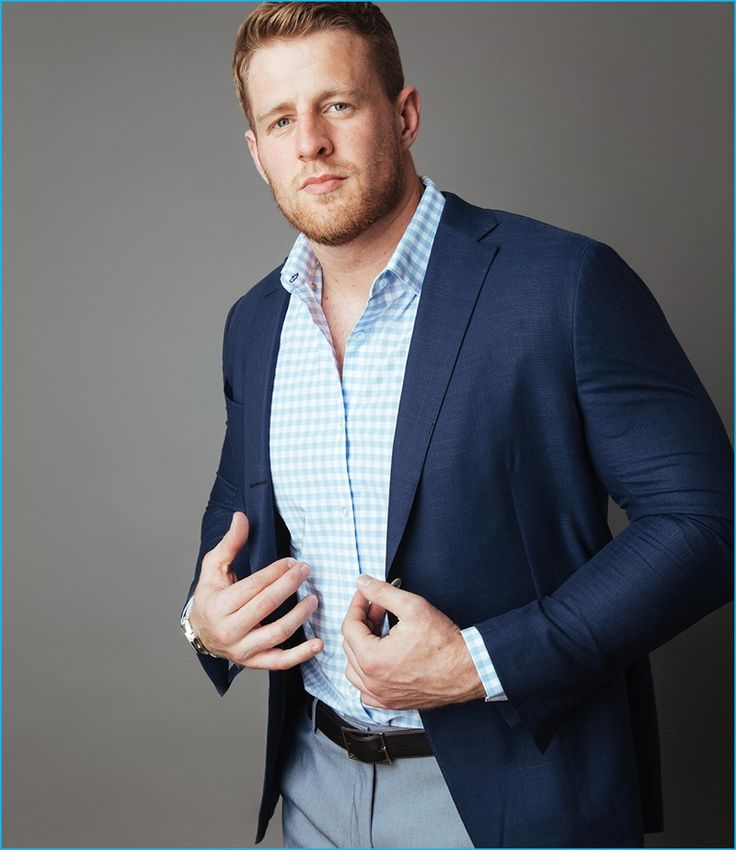 J.J. Watt suits up for a chat with Mizzen+Main.