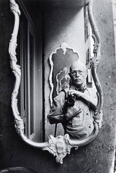 Willy Ronis, Autoportrait,  Venise