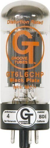 Groove Tubes GT-6L6-CHPQ Quartet Matched Power Tubes Medium by Groove Tubes. $80.33. Groove Tubes GT-6L6-CHPQ Quartet Matched Power Tubes Medium