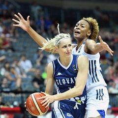 FIBA Women's European Basketball Championship match: France vs. Slovakia