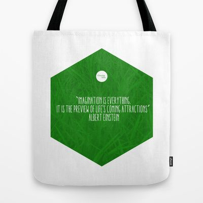 Imagination Is Everything Tote Bag by Growing Ideas - $22.00
