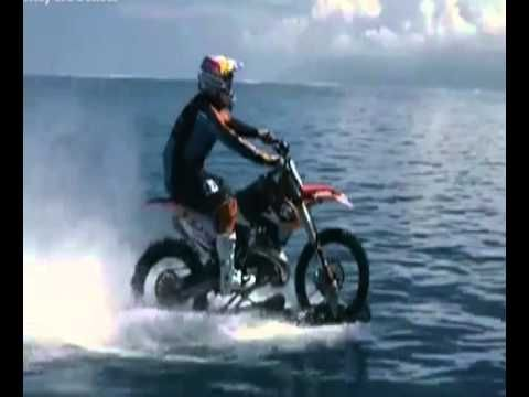 """""""Maddo"""" Pretty Awesome Australian Motocross Surfing First In The World  ..."""