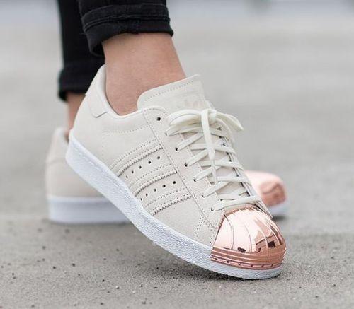 Zapatillas Adidas Mujer Superstar Doradas