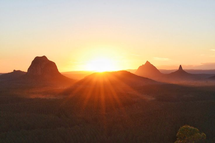 Glasshouse Mountains, Queensland Australia