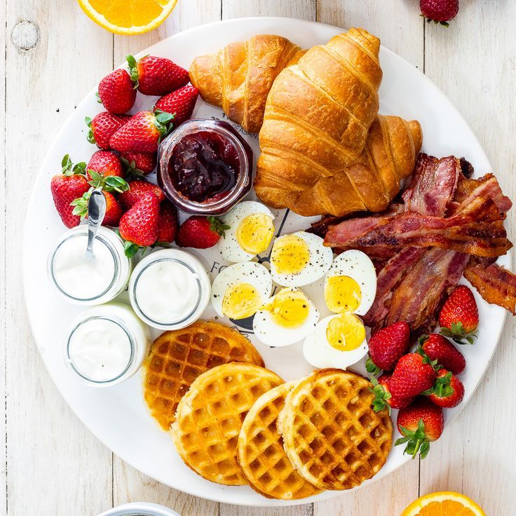 Simple breakfast board