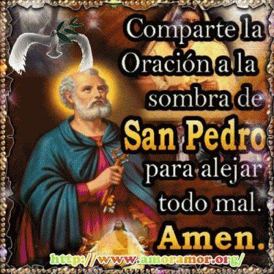 Oración a la Sombra de San Pedro para alejar todo Mal