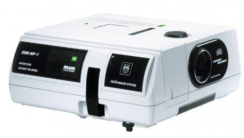 Braun Paximat Multimag 250 AF I Slide Projector with 85mm f/2.8 MC Lens Braun Multimag 250 AF-I 2,8/85 (Barcode EAN = 4000567040798). http://www.comparestoreprices.co.uk/december-2016-6/braun-paximat-multimag-250-af-i-slide-projector-with-85mm-f-2-8-mc-lens.asp