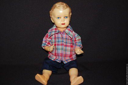 Винтажные куклы и игрушки. Куколка из целлулоида. Adam Szrajer/ Schreyer /Шраер…