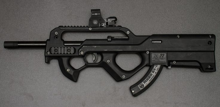 Red Jacket ZK-22 Ruger 10/22 Bullpup Conversion - http://thefirearmsshow.com