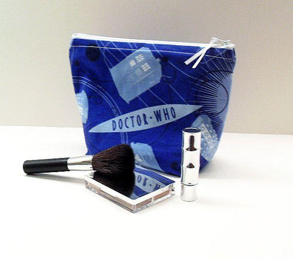 Doctor Who make-up bag.