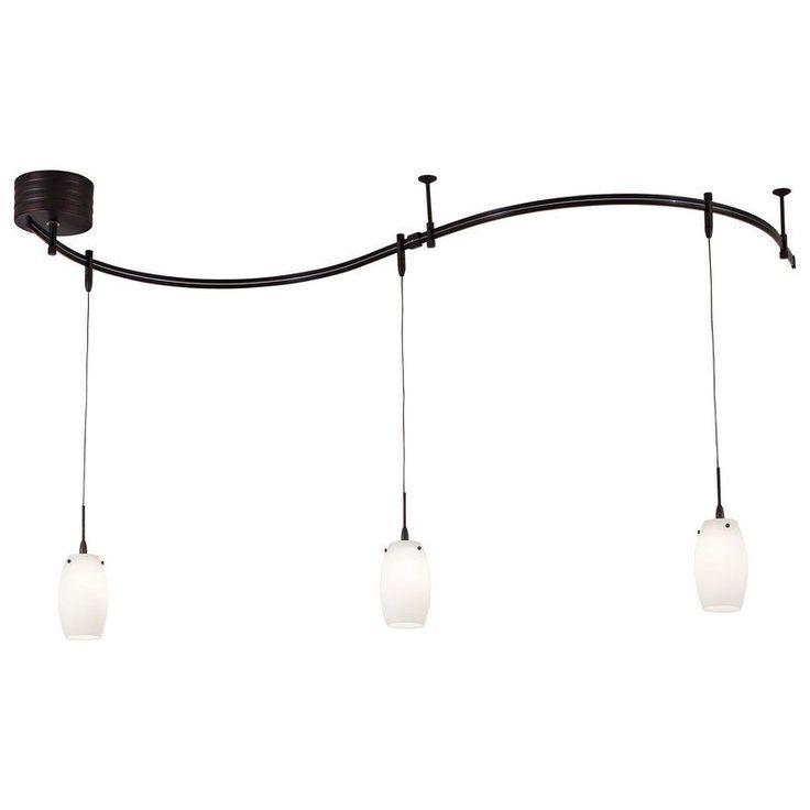 Kovacs GK P8003-1 3 Light Contemporary / Modern Monorail Mini Pendant Kit  from t - The 25+ Best Contemporary Track Lighting Kits Ideas On Pinterest