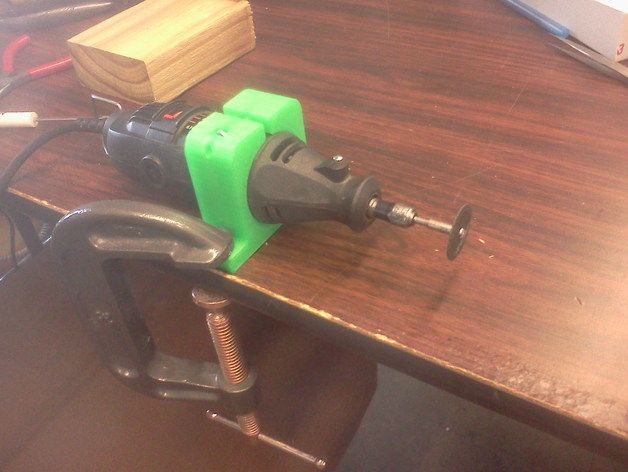 Dremel holder for table top