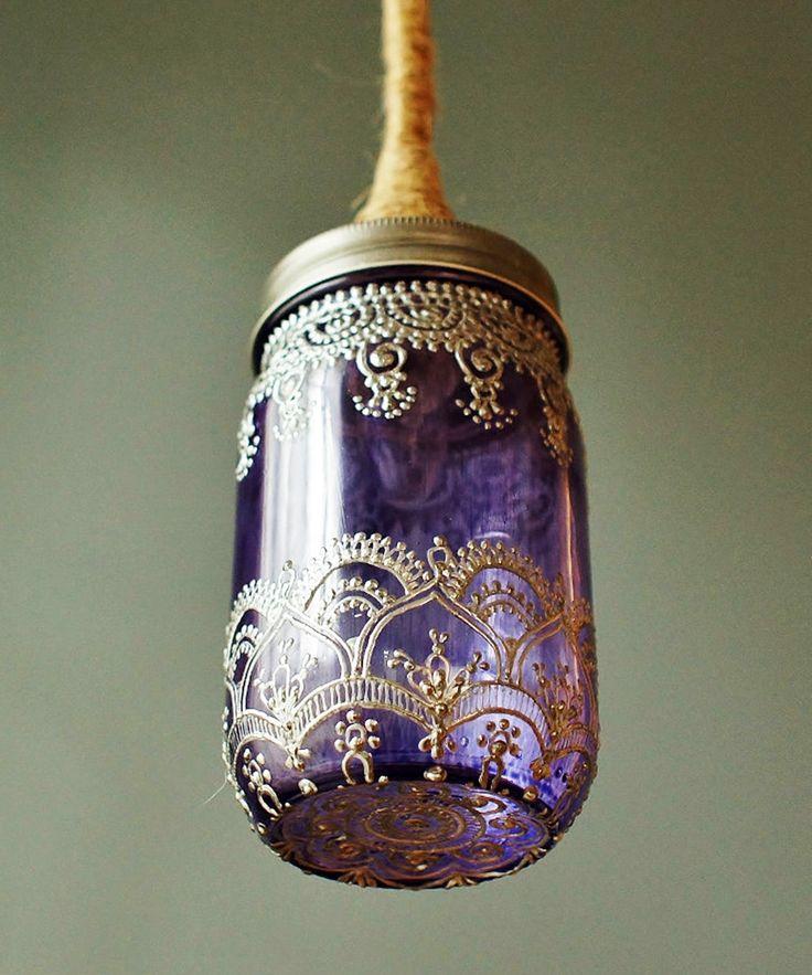 Moroccan Inspired Dancer Mason Lamp