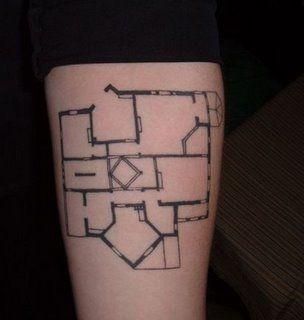 39 best architects with tattoos images on pinterest tattoo ideas floor plan tattoo hahaha malvernweather Choice Image