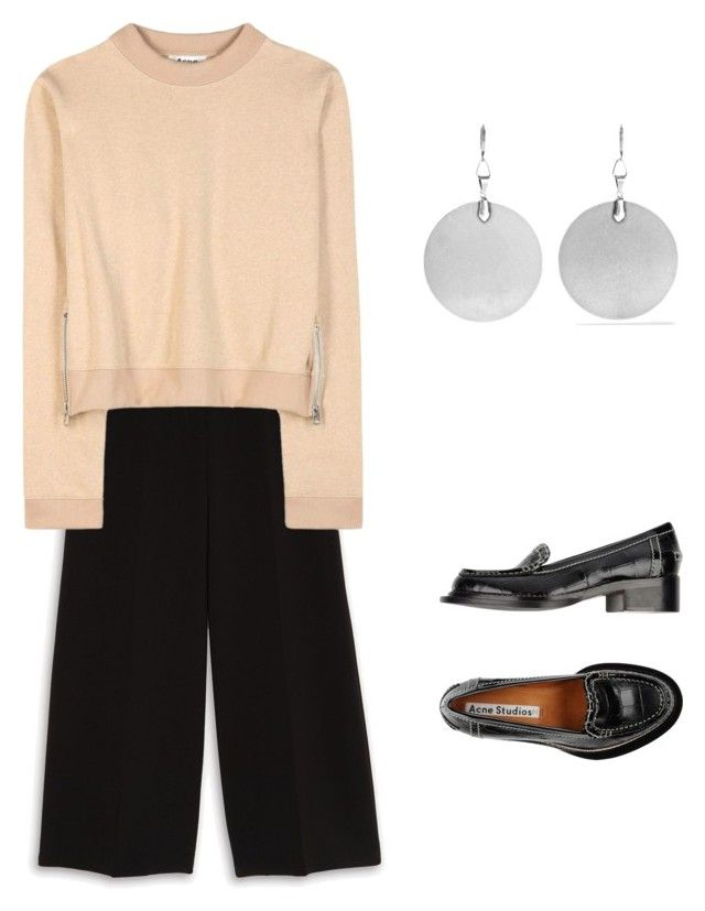 """""""Acne studios sweater"""" by kirsti-salonen on Polyvore featuring Acne Studios, Theory and Isabel Marant"""