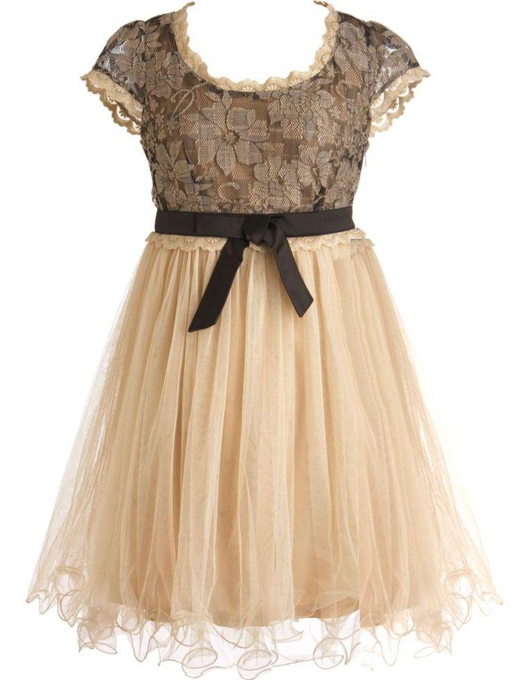 Teacup Dream Dress. Sweet details