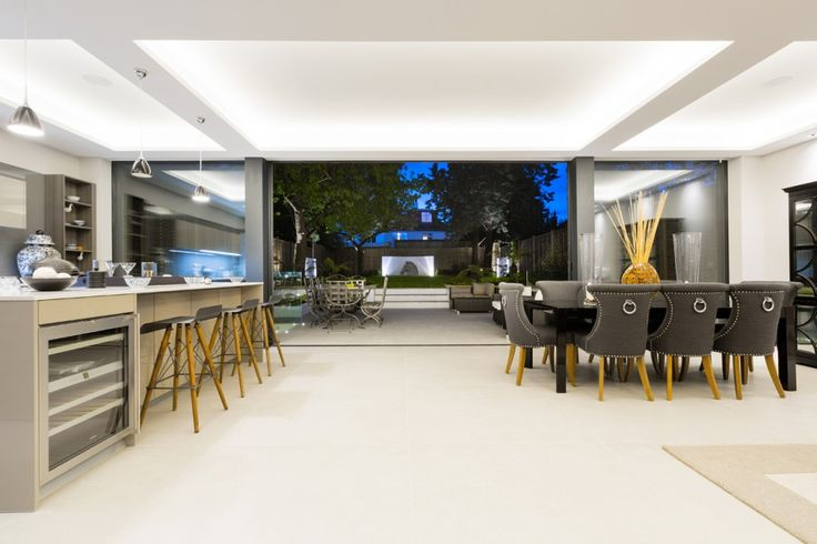 Granit Architects Luxury Home in Barnes, South West London Kitchen / dining space