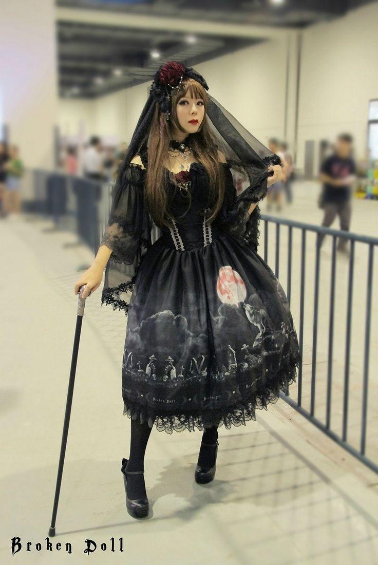 Gothique Lolita Mode, Le Style Lolita, Vêtements Gothique, Steampunk  Victorien, Portail, Punk Goth, Loups, Japonais Mode De La Rue, Broken Doll