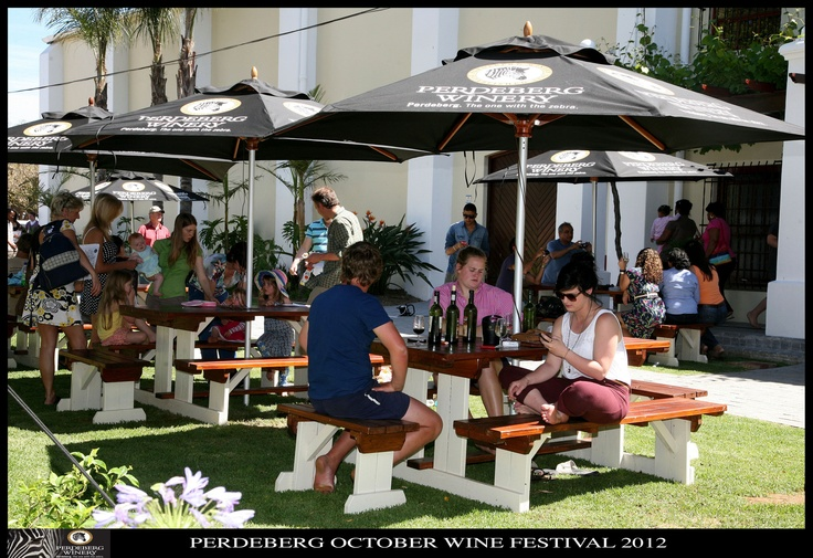 Perdeberg Winery's October Festival 2012