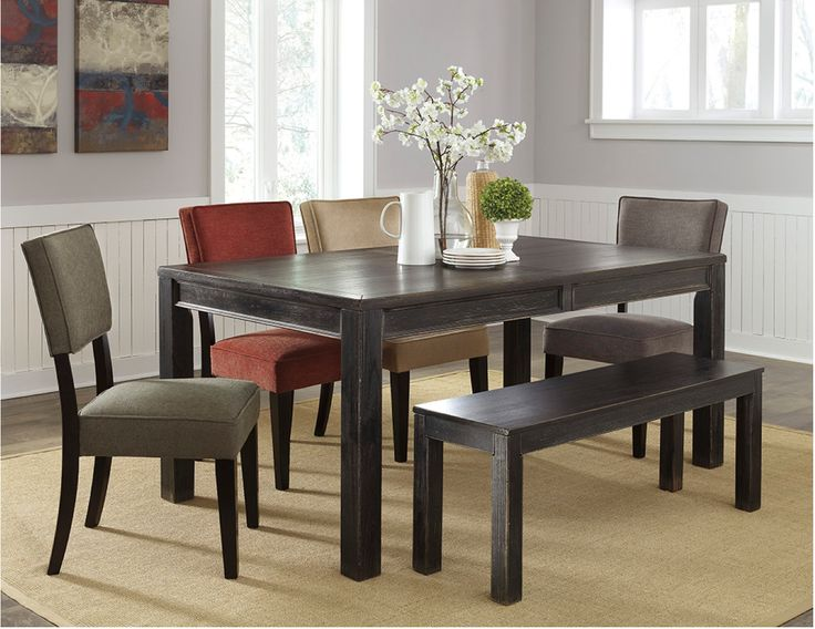 Shop For Signature Design By Ashley Rectangular Dining Room Table And Other Tables At AW Furniture In Redwood Falls MN