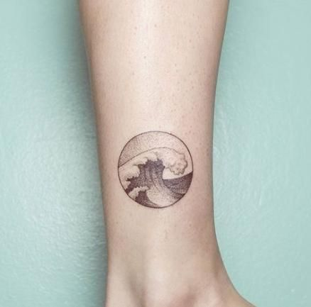 Tattoo wave circle water 54+ Super Ideas
