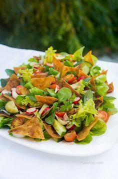 Salade Fattouch - cuisine libanaise