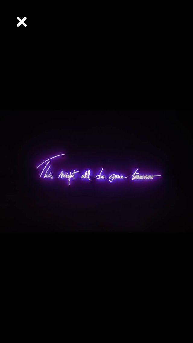 aesthetic purple neon wallpapers | Neon wallpaper, Purple ...