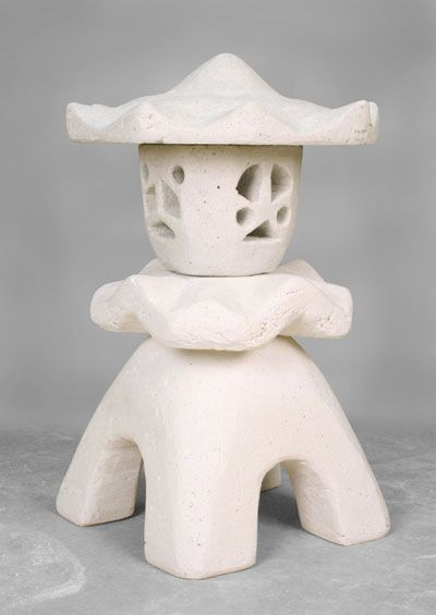 AMACO.com - AMACO Lesson #28 - Creating a Japanese Garden Lantern in Crea-Stone #playinclay #education #arts #pottery #ceramics