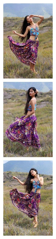 """Delila Maxi Skirt - Plum"" by tulleandbatiste ❤ liked on Polyvore featuring skirts, brown skirt, floor length skirt, ankle length skirt, maxi skirt, brown maxi skirt and plum maxi skirt"
