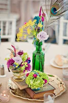 Vintage Table Decor.
