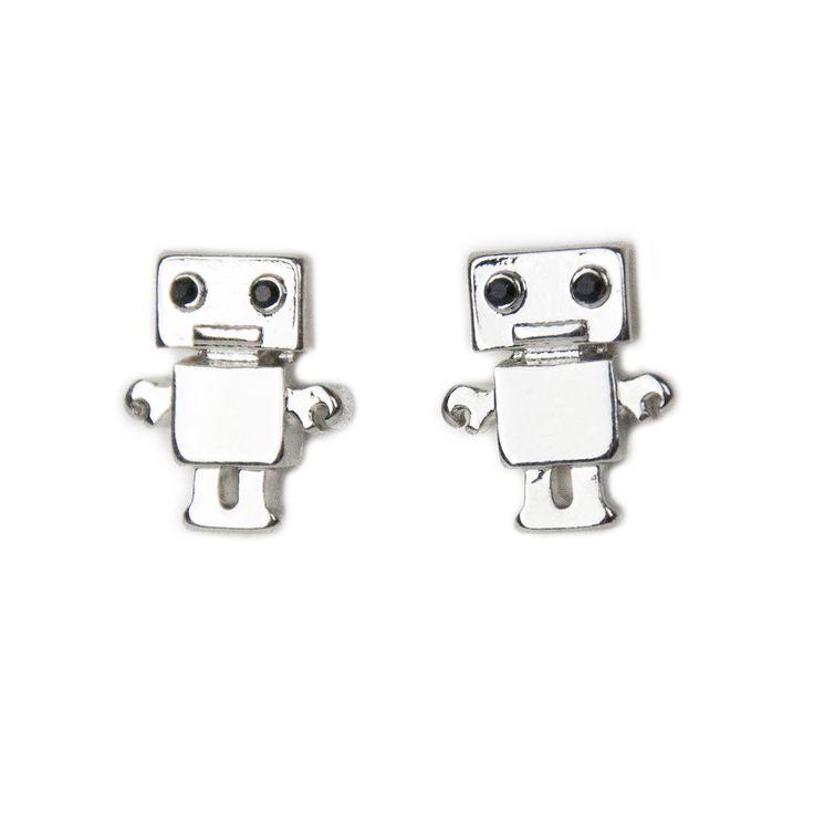 Mr. Roboto Earrings