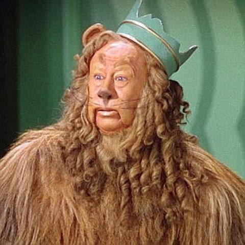 I love the cowardly lion and he was a surprisingly easy homage to execute, possibly that says something about me.  . Interestingly the original costume came up