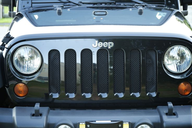 DIY Jeep Wrangler Grill Guards for about $10
