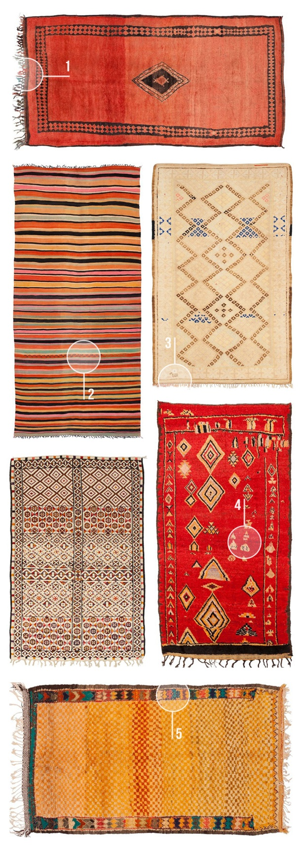 1000+ images about Moroccan Tribal Rugs on Pinterest