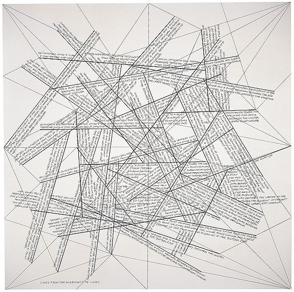 thoughts from the midpoints of thoughts ----- sol lewitt 1975: Thoughts, 1960S, 1975 Etchings, Google Search, Sol Lewitt, Lewitt Drawings, Drawings Series, National Galleries, Lewitt 1975