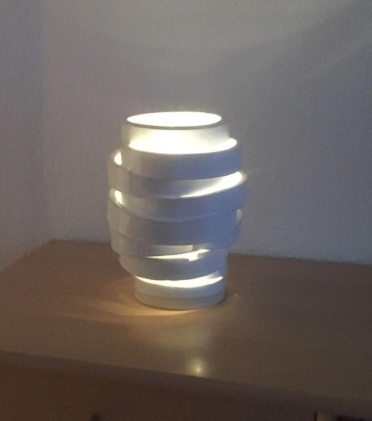 Lampe/lamp lavet på Odder Højskole 2017. #KroezeDezign