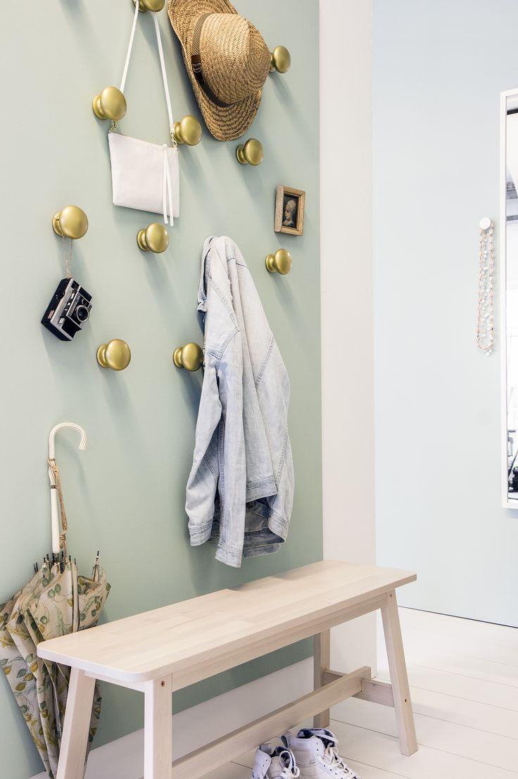 25 beste idee n over kinderen kapstokken op pinterest binnenkomst kapstokken kleine entrees - Schilderen voor entree en hal ...
