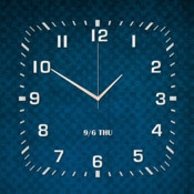 Clock Pro for iPad  By feng min    Here comes Clock Pro for iPad, a simple and elegant clock app! With this app, your iPad will be given life and know you better than before.