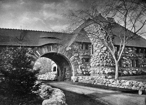 Ames Gate Lodge H H Richardson 19th C Architecture