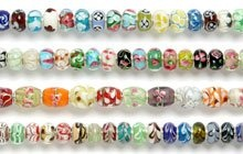 Pandora style glass beads from Beads Direct