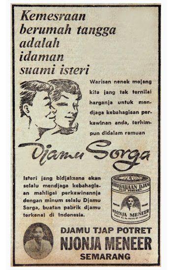 Djamu Tjap Potret Njonja Meneer Semarang