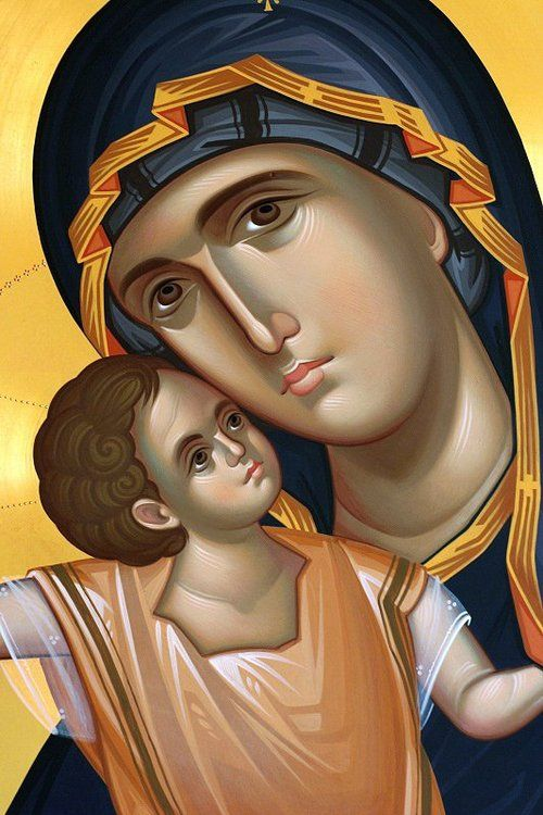 My Sweetest Mother, Most Holy Theotokos, Panayia mou, please continue praying for me to your Son! Please continue helping me with everything, because I don't have the strength to do it alone. I strongly need your intercessions..! May His Will be done, not mine.
