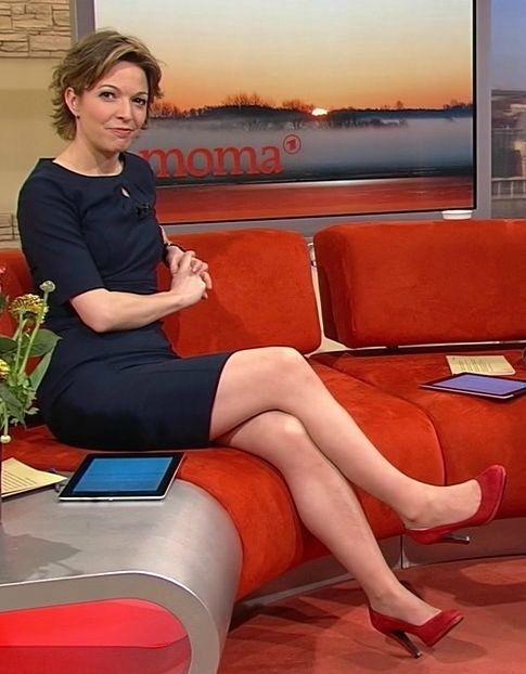 Anna Planken   Red Shoes - Célébrités Présentatrices