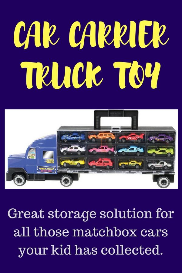 Car Carrier Truck | The Perfect Storage Solution For All Those Matchbox Cars  Your Kiddo Has